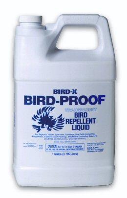 Bird-X BP-LIQ-1 Bird Proof Bird Repellent Liquid-1 Gallon