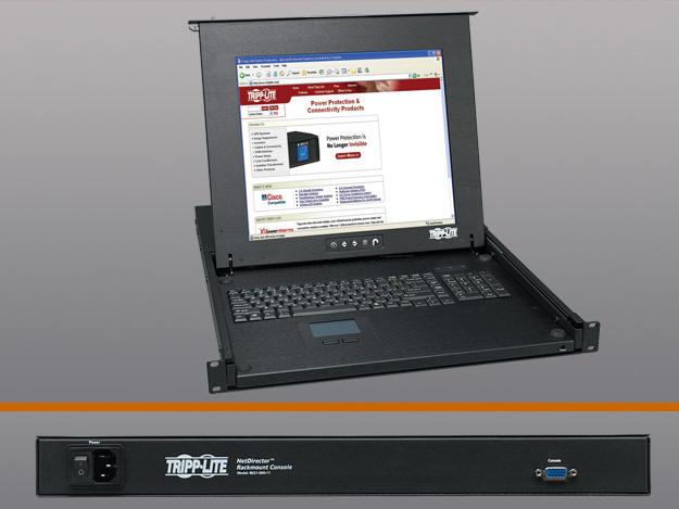 Tripp Lite 1U Rackmount Kvm Console B021-000-17