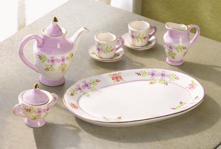 Mini Floral Tea Set