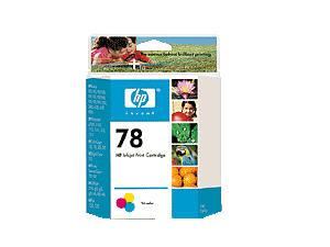 HEWLETT PACKARD 78 tri-color Ink crtg  19ml  yield 450 C6578DN