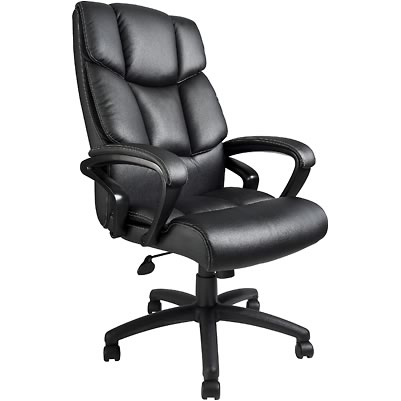 Boss B8701 Italian Leather Executive Chair
