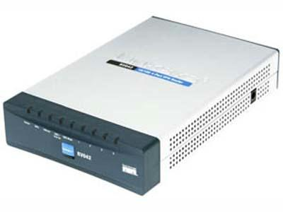 Linksys CABLE/DSL VPN ROUTER w/4-PT SW RV042
