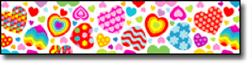 Carson Dellosa Cd-3336 Groovy Hearts