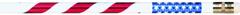 J.R. Moon Pencil Co. Jrm7856B Pencils Stars & Stripes 12 Pack