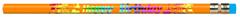 J.R. Moon Pencil Co. Jrm7904B Pencils Happy Birthday 12 Pack 12 Pack