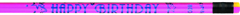 J.R. Moon Pencil Co. Jrm7917B Pencils Neon Happy Birthday 12 Pack