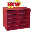 Pacon Corporation Pac001314 10 Shelf Organizer