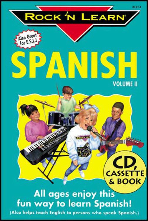 ROCK N LEARN RL-934 SPANISH VOLUME II CD + BOOK