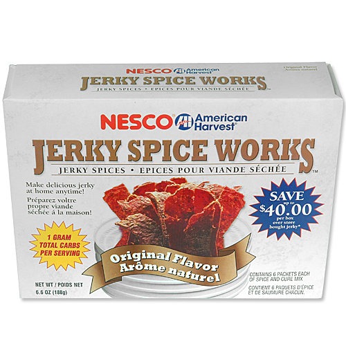 Nesco BJ-6 Jerky Spice Works 6 pack  Original Flavor