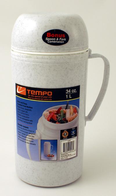 Range Kleen 10FB 34 oz. Foam and Glass Insualted Food Bottle