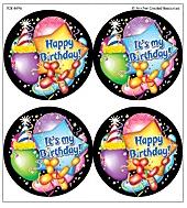 Teacher Created Resources Tcr4496 Happy Birthday Wear Em Badges