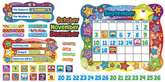Trend Enterprises Inc. T-8194 Bb Set Star Calendar