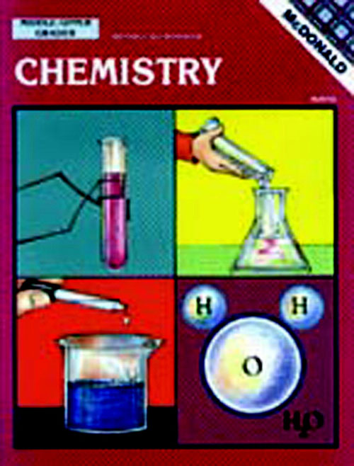 Mcdonald Publishing Mc-R766 Chemistry Gr. 6-9