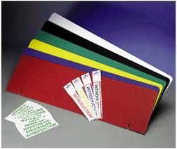 Flipside Flp50810 Project Board Titles Yellow