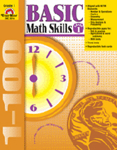 Evan-Moor Emc3014 Basic Math Skills Gr. 1