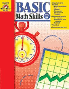 Evan-Moor Emc3018 Basic Math Skills Grade 5