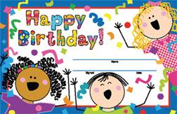 CREATIVE TEACHING PRESS CTP1265 Happy Birthday Awards