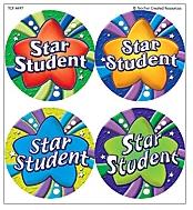Teacher Created Resources Tcr4497 Star Student Wear Em Badges