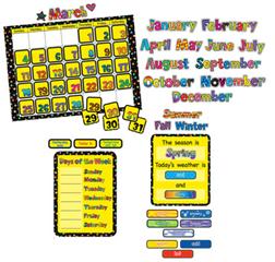 Creative Teaching Press Ctp1178 Poppin Patterns Calendar Set