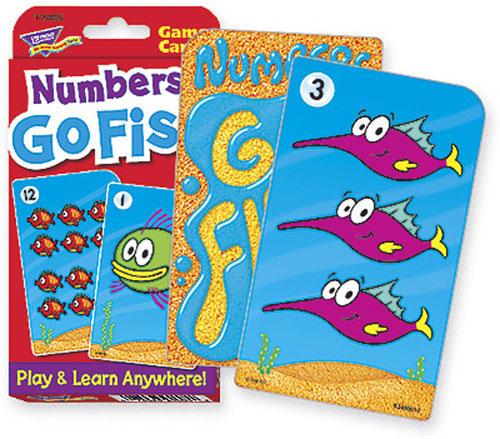 Trend Enterprises Inc. T-24005 Challenge Cards Numbers Go Fish