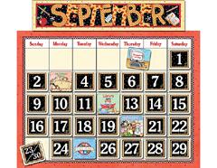Teacher Created Resources Tcr4314 Classroom Calendar Bulletin Board