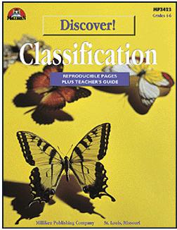 Milliken Publishing M-P3423 Discover! Classification Gr. 4-6