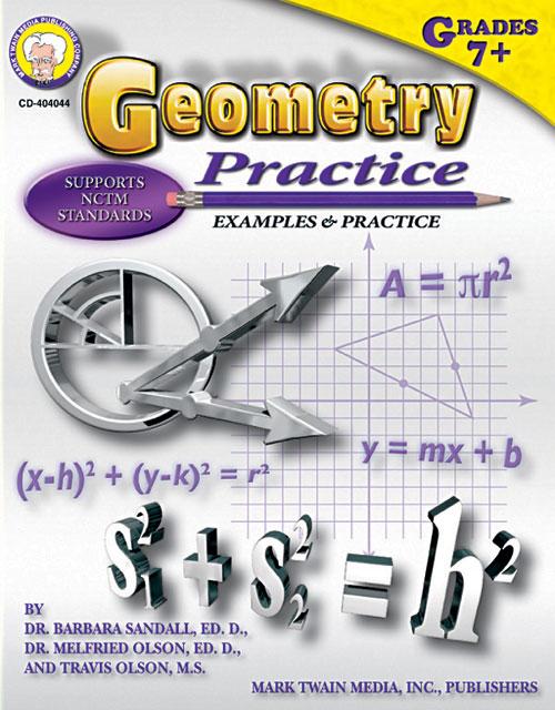 Carson Dellosa Cd-404044 Geometry Practice