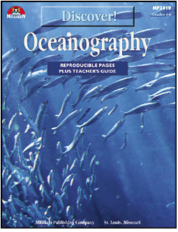 Milliken Publishing M-P3410 Discover! Oceanography Gr. 4-6