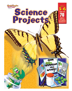 Harcourt School Supply Sv-69116 Science Projects Grades 5-6
