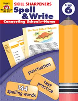 Evan-Moor Emc4542 Spell & Write Grade 6