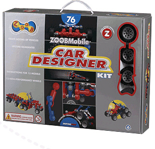 Infinitoy Inf12052 Zoobmobile Car Designer