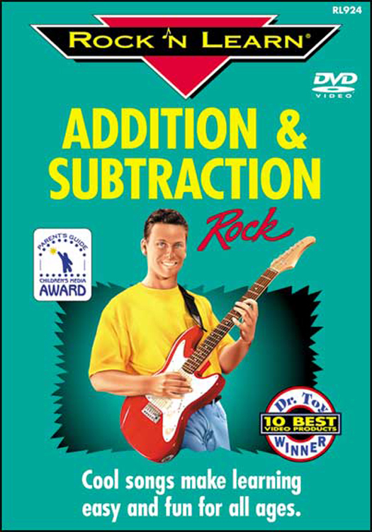 ROCK N LEARN RL-924 ADDITION SUBTRACTION ROCK ON DVD