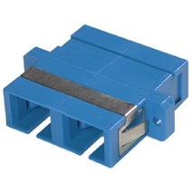 Cables To Go 27098 SC-SC FIBER ADAPTER DUPLEX F-F