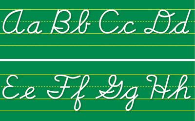 North Star Teacher Resource Nst9012 Alphabet Lines Contemporary Cursiv-E
