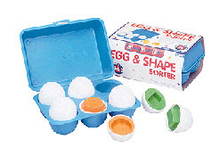 Small World Toys Swt8306 Egg And Shape Sorter