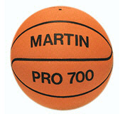 Dick Martin Sports Masb10O Basketball Official Orange-Rubber Nylon Wound