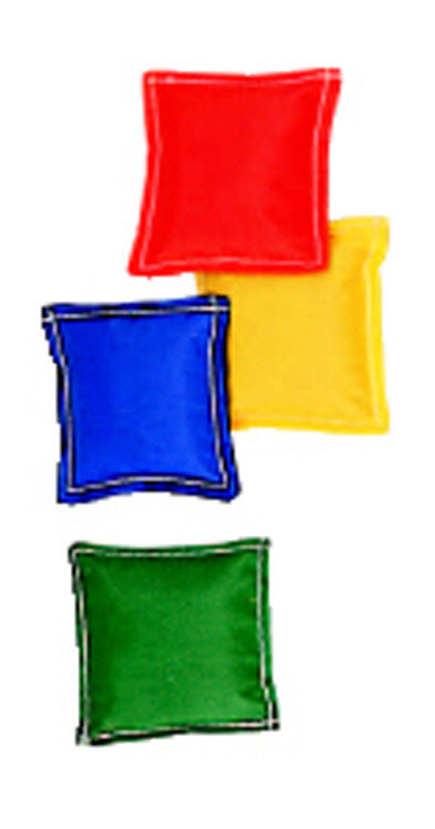 Dick Martin Sports Masbb33 Bean Bags 3 X 3 12-Pk-Nylon Cover Plastic Bead Filling