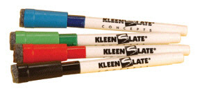 Kleenslate Concepts Llc. Kls0432 Attachable Erasers For Dry Erase Ma