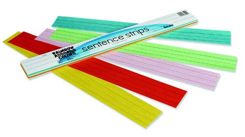 Pacon Corporation Pac73400 Rainbow Kraft Sentence Strips