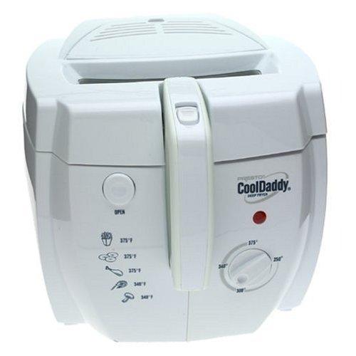 Presto 05443 CoolDaddy Electric Deep Fryer