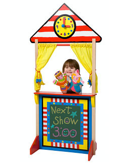 Alex Toys 23K Floor Standing Puppet Theatre with Clock