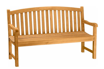 Anderson Teak BH-005R Chelsea 3-Seater Bench