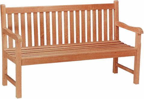 Anderson Teak BH-005S Classic 3-Seater Bench