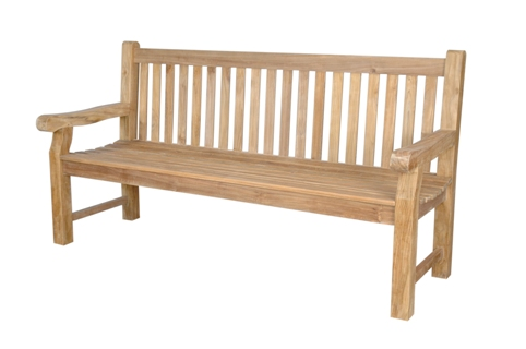 Anderson Teak BH-706S Devonshire 4-Seater Extra Thick Bench