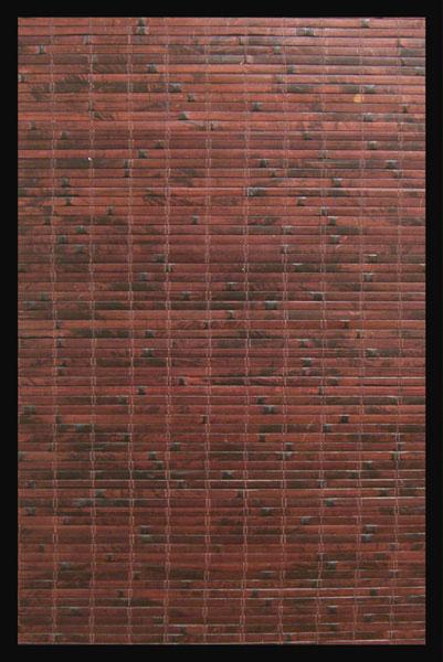 Anji Mountain AMB0085-0046 Cobblestone Bamboo Rug 4 x 6