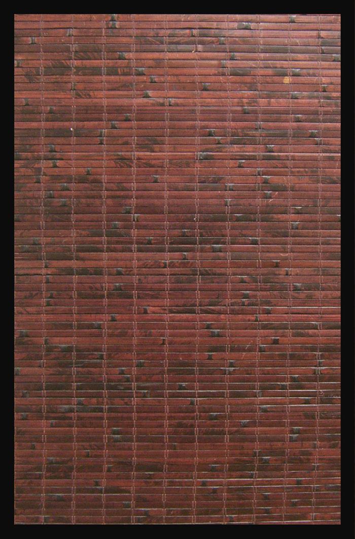 Anji Mountain AMB0085-0710 Cobblestone Bamboo Rug 7 x 10