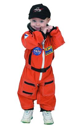 Aeromax ASO-ROMP Jr. Astronaut Suit  Size 6 to 12 Months - Orange