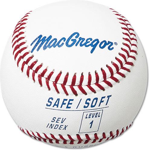 MacGregor MCB5SV01 Safe/Soft Baseball - Level 1 - Ages 5-7