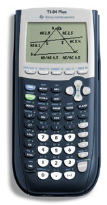 TEXAS INSTRUMENTS TI-84PLUS Calculator  Graphing  PresentationCapable