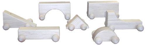 Beka 06505 Gary Gothic-- Whimsie Hard Maple Unit Blocks